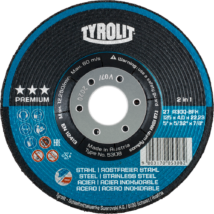 Tyrolit 125x7,0x22,23 Inox Premium