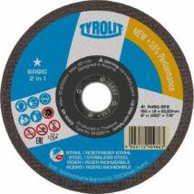 Tyrolit 125x1,6x22,23 Inox Basic